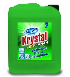 KRYSTAL PINE SANAN 5l s dezinfekčním a bělícím účinkem