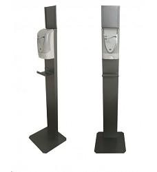 Stojan PROTEC TF na bezdotykový dávkovač na dezinfekci šedý DEB