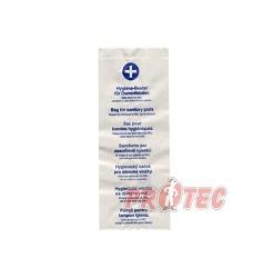 Hygienické papírové sáčky 11+6x28cm  100 ks 60685