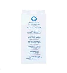 Hygienické papírové sáčky 11x6x28cm  100 ks 60685
