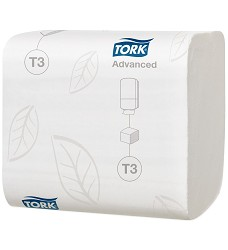 TORK 114271 toaletní papír skládaný 2-vrstvy T3