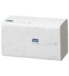 TORK 290163 Advanced papírový ručník ZZ (zigzag) bílý 2 vrstvy celulóza/recykl 3750 útržků  H3