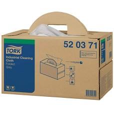 TORK  520371 skládané utěrky,přenosné balení 42.8x38.5cm W7