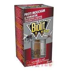 BIOLIT PLUS tekutá náplň do strojku proti mouchám a komárům 31 ml= 8 hodin denně