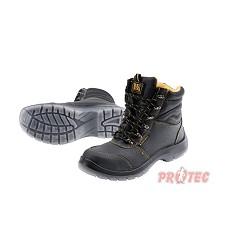 Kotníčková bezpečnostní obuv  zimní  BLACK KNIGHT S3 CI DOPRODEJ!!!