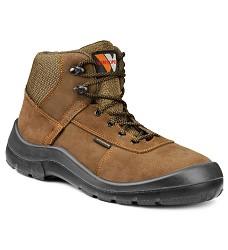 Kotníčková obuv BORNEO S3  bezpečnostní s plastovou špicí a planžetou černá