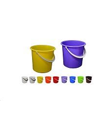 Vědro plastové 12l mix barev I S 111