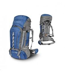 Batoh GORGANY TRIMM 75l pohodlný a velice kvalitní z ultralehkého materiálu blue/grey