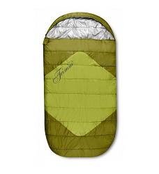Spací pytel TRIMM DIVAN komfortní s atraktivním vzhledem kiwi green/mid.green