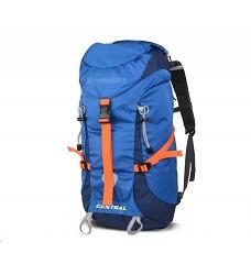 Batoh CENTRA 40 40L pro vysokohorskou turistiku anatomicky tvarovaný systém blue/orange