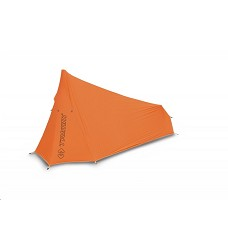 Stan PACK-DLS pro 1 osobu s využitím trekingové hole s prostornou apsidou orange/grey