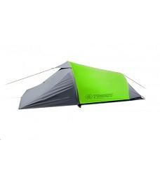 Stan SPARK-D pro 2 osoby 2,5 kg komfortní trekingový tunelový lime green / grey
