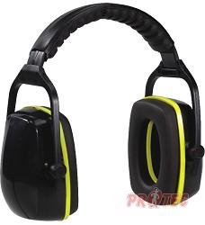 Mušlový chránič sluchu SAKHIR SNR29 dB Venitex, černo-žlutý