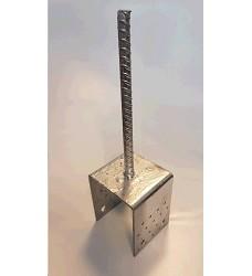 Patka kotevní do betonu typU 100x100x4.0 mm