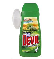 Dr.DEVIL WC gel náhradní 400ml/16 + košíček APPLE 8264