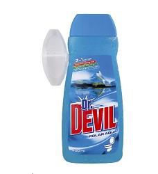 Dr.DEVIL WC gel náhradní 400ml/16 + košíček AQUA 8265