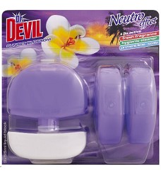 Dr.DEVIL WC blok SUNSET BLOSSOM 3x55 ml/12 + koš