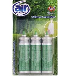 Osvěžovač vzduchu náhradní NATURE AIR MENLINE happy sprej 3x15ml /14