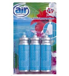 Osvěžovač vzduchu náhradní TAHITI  AIR MENLINE happy sprej 3x15ml/14