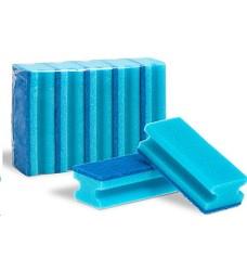 Houba na nádobí tvarovaná na teflon 5ks modro/modrá GASTRO 15x7x4,5