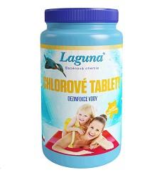 Laguna chlorové tablety velké T 1kg dez. chlor