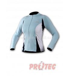 ROGELLI VITTORIA women cykl dres dl.ruk. funk.modrý010.022