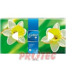 Kapesníčky papírové v krabici 100ks, 2vrstvé  LINTEO,TIP LINE,LILIEN,ELLIE