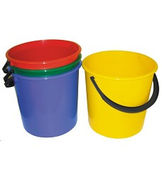 Vědro plastové 5l mix barev
