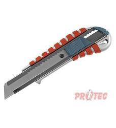 Nůž ulamovací kovový s kovovou výztuhou, 18mm, Auto-lock Extol Premium