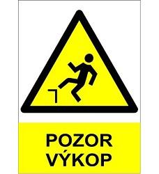 B.t. pl. Pozor výkop A4