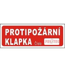 B.t. folie Protipož. klapka 15x5,5