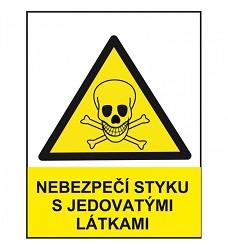 B.t. folie Nebezpečí styku s jed. látkami A7