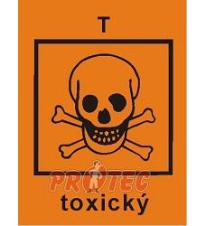 B.t.sam.Toxický aršík 16ks 2*2,5cm