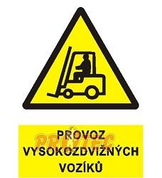 B.t.folie Provoz vysokozdvižných vozíků A4