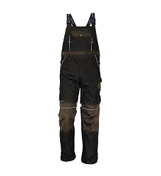 Montérkové kalhoty STANMORE s laclem hnědé