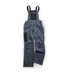 Montérkové kalhoty 4TECH 02 H9318 dámské laclové šedo-černé