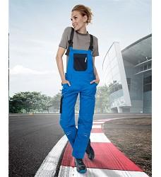 Montérkové kalhoty 4TECH 02 H9410 dámské laclové modro-černé