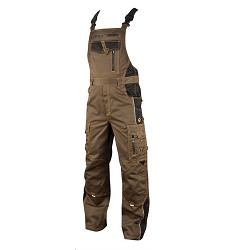 Montérkové kalhoty VISION H9144 laclové 183-190 cm prodloužené tarmac