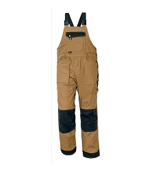 Montérkové kalhoty NARELLAN pánské s laclem béžovo/černé DOPRODEJ
