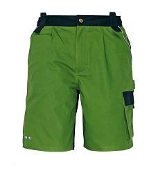 Kalhoty pánské krátké STANMORE, 100% bavlna, 275g/m2, zelené