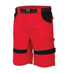Kraťasy COOL TREND H8182 100% bavlna 260 g/m2 červeno-černé