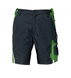 Kalhoty krátké ALLYN, šortky, 65% PES, 35% bavlna, 280g/g/m2 ,černo-zelené