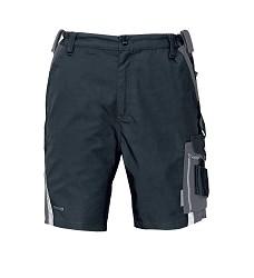Kalhoty krátké ALLYN, šortky, 65% PES, 35% bavlna, 280g/g/m2 ,černo-šedé