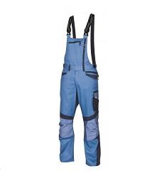 Montérkové kalhoty R8ED+03 H9702 pánské s laclem s reflexním potiskem modré