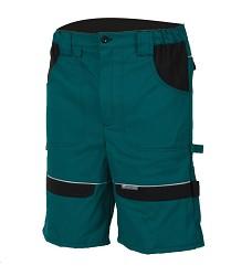 Kraťasy COOL TREND H8181 100% bavlna 260 g/m2 zeleno-černé