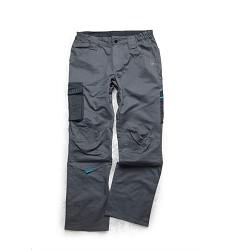 Montérkové kalhoty 4TECH 02 H9317 dámské pasové šedo-černé