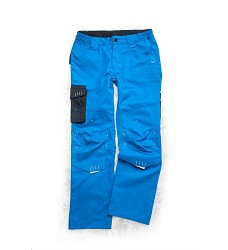Montérkové kalhoty 4TECH 02 H9409 dámské pasové modro-černé