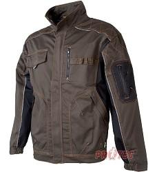Montérková bunda VISION H9142 tarmac khaki prodloužená 194 cm
