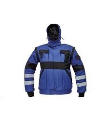 Montérková bunda MAX REFLEX WINTER pánská zimní modro-černá