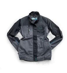 Montérková bunda 4TECH 01 164-172 cm dámská šedo-černá